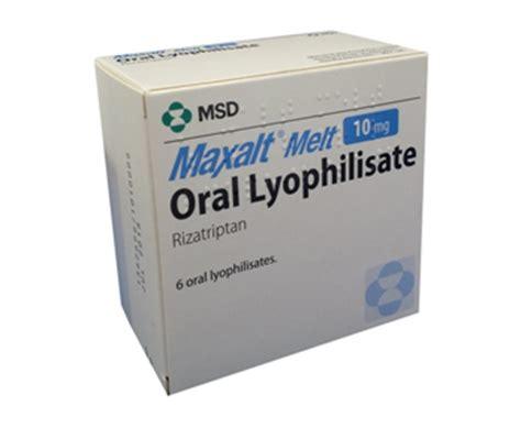 Maxalt Melt Tablets online without prescription for