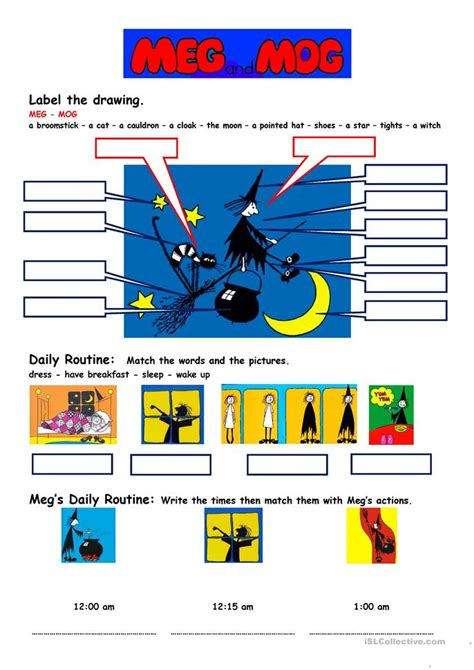 meg mog worksheet  esl printable worksheets