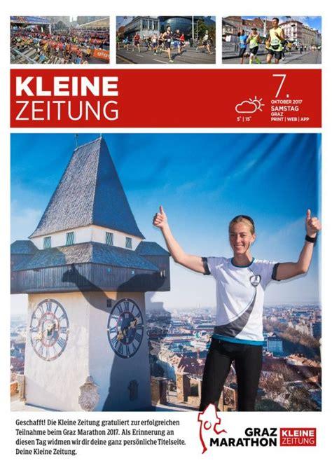 Kleine Zeitung Bad Waltersdorf by Kleine Zeitung Fotoaktion Graz Marathon