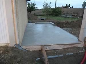 dalle joint de dilatation et fourreaux pour evacuations With joint de terrasse exterieure