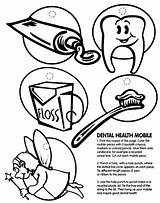 Coloring Dental Pages Health Teeth Hygiene Personal Printable Dentist Print Mobile Drawing Oral Tooth Month Sheets Crayola Healthy Printables Preschool sketch template