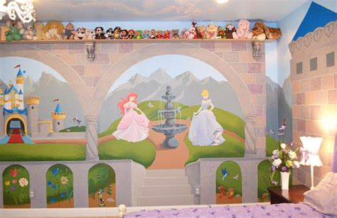 disney murals for nursery 25 disney inspired rooms that celebrate color and creativity
