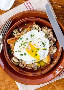 Mushroom Toast with Fried Egg Recipe | SimplyRecipes.com