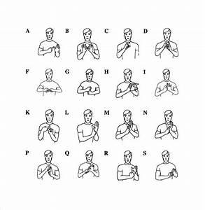 sample sign language alphabet chart 9 documents in pdf With sign language documents