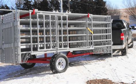 corral panel trailer livestock fencing products