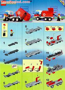 Lego 6668 Recycle Truck Set Parts Inventory And