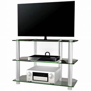 onata xxl meuble tv hifi video commode rangement verre With meuble xxl
