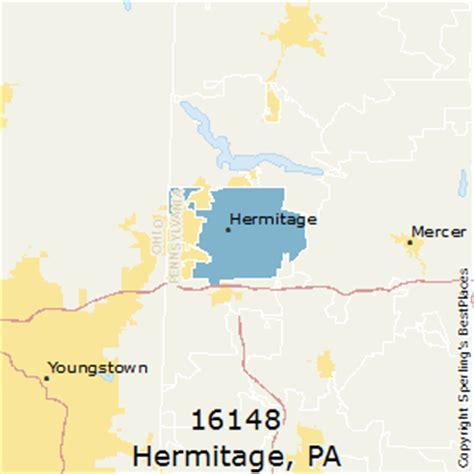 places    hermitage zip  pennsylvania