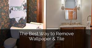 the best way to remove wallpaper tile home remodeling With best way to remove bathroom tiles
