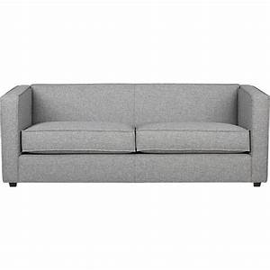 club grey sofa - CB2