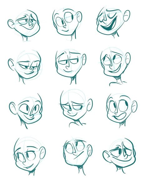 cartoon faces ideas  pinterest cartoon eyes
