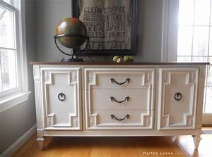 Custom Made Sample Mid Century Buffet Dresser By