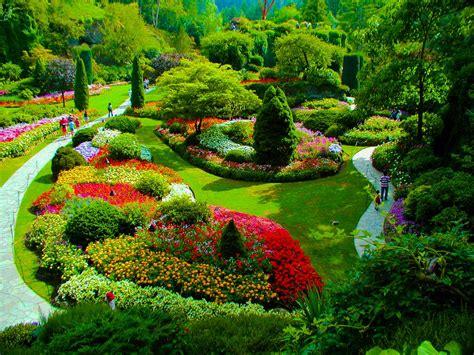 panoramio photo of butchart gardens canada
