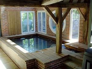 Petite Verrière Intérieure : installer une piscine en bois dans votre salon c est ~ Zukunftsfamilie.com Idées de Décoration