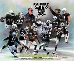 Raider Nation (Oakland Raiders) by Wishum Gregory | The ...
