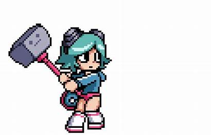 Pixel Anime Pilgrim Scott Animation Characters Animated