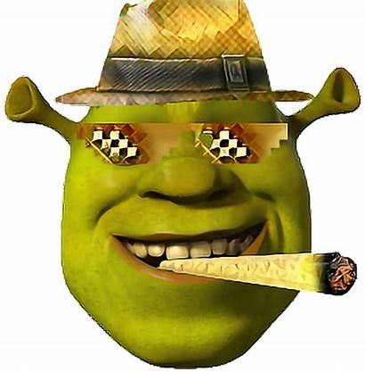 Dank Meme Transparent Memes Face Shrek Transparency