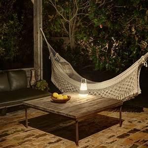 Lampe De Jardin : lampe de jardin baladeuse cat blanc h32cm faro luminaires nedgis ~ Teatrodelosmanantiales.com Idées de Décoration