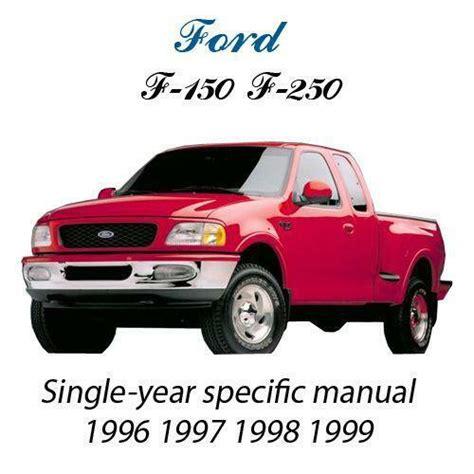 service manual service and repair manuals 1999 ford f150 navigation system 1997 1998 1999 ford f150 repair manual ebay