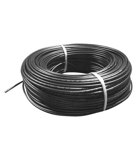 buy green cab black fr pvc insulated copper electric wire online at low price in india snapdeal