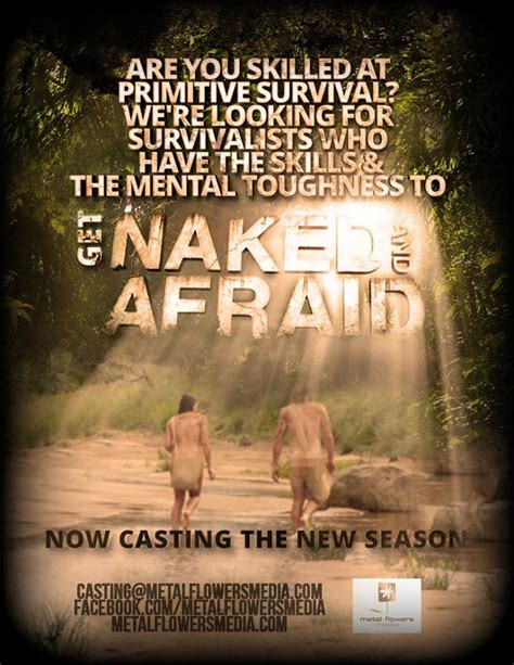 Discovery Channel S Naked Afraid Now Casting