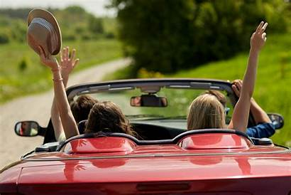 Road Trip Happy Friends Travel Driving Dr