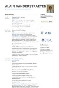 resume for supply chain manager supply chain manager resume sles visualcv resume sles database