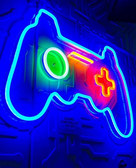 game controller neon light cyberdog