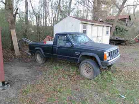 1986 jeep comanche 4x4 purchase used 1986 jeep comanche 2 5l 4x4 long bed in