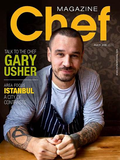 Chef Magazine Journals Kingdom Orders United Library