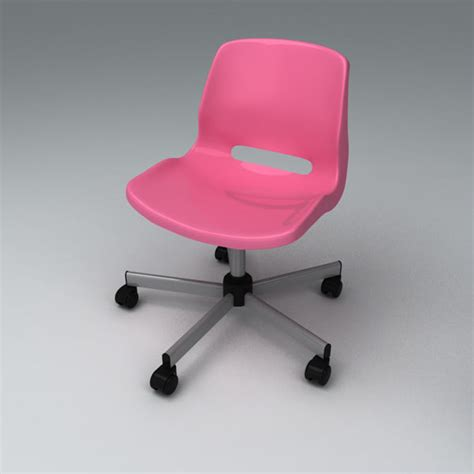 Snille Swivel Chair Pink Ikea by 3d Model Of Snille Chair Chai