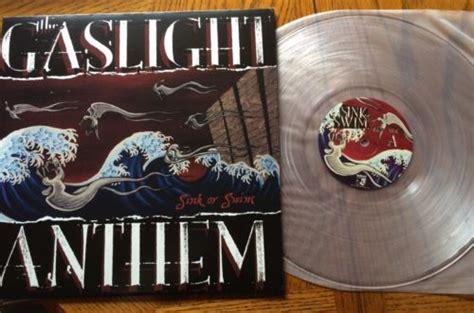 gaslight anthem sink or swim vinyl popsike the gaslight anthem sink or swim clear vinyl