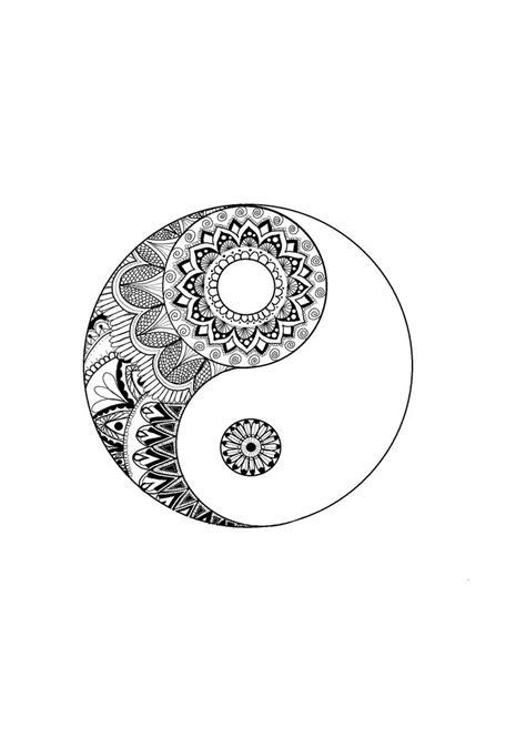bedeutung yin yang die besten 25 yin yang tattoos ideen auf yin