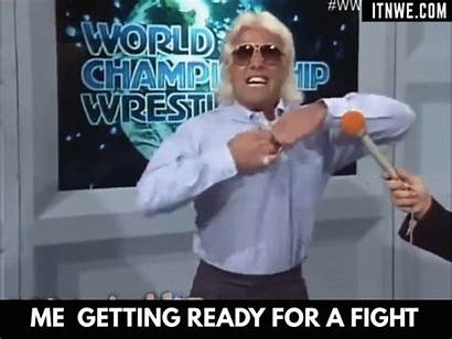 Flair Ric Memes Woo Fight Wwe Ready