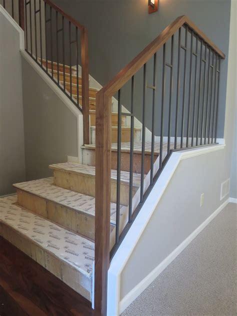 u home interior design wood stair railings interior best wrought iron railings