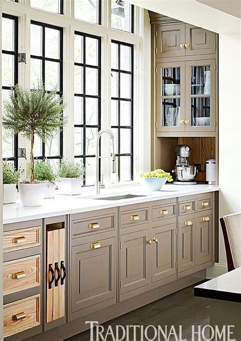 ideas  taupe kitchen  pinterest taupe kitchen cabinets grey kitchens  diner
