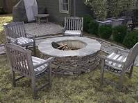 stone fire pit DIY Stone Fire Pits - Shine Your Light