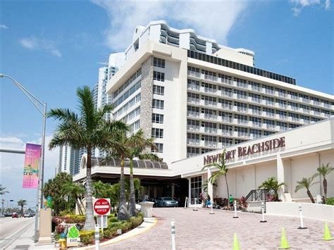 Newport Beachside Resort Hotel, Miami Beach, Florida, Usa