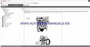 Toyota Zre17 Corolla Altis Service Information Manual 2014