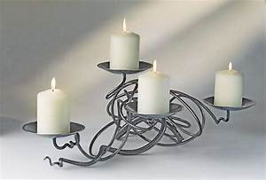 wrought iron candle holder blacksmith 4 candle holder With kitchen cabinets lowes with hand forged candle holders