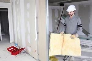 Poser Placo Mur Avec Rail : comparatif isolant phonique ~ Melissatoandfro.com Idées de Décoration