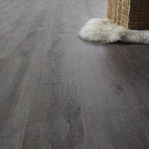 lame pvc clipsable gris pecan senso lock gerflor house With parquet pvc clipsable