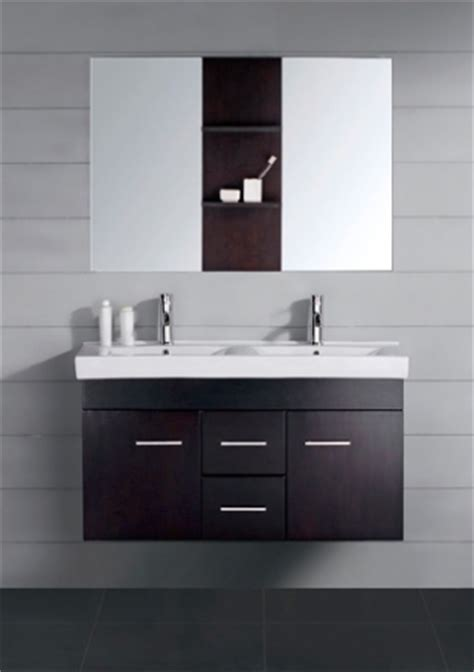 modern double sink bathroom vanity espresso