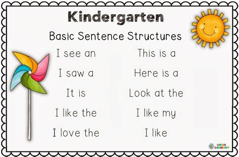 resources and ideas clever classroom 881 | Making and Writing Spring Sentences Image 18