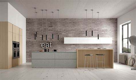 Bright Kitchen Lighting Ideas - contemporary italian kitchens designs creative timeless ideas