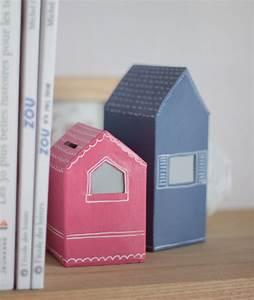 Faire Une Tirelire : tirelire en forme de maison ventana blog ~ Nature-et-papiers.com Idées de Décoration