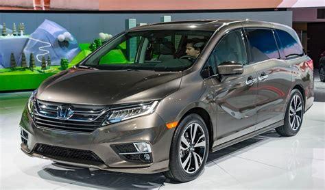 Odyssey Redesign by 2020 Honda Odyssey Redesign Concept Interior 2019
