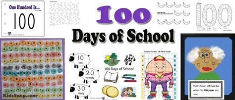 days of school activities for preschool 100 days of school activities and printables 100