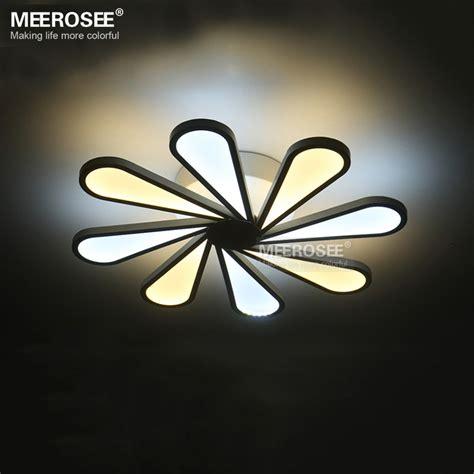 modern led ceiling light 8 lights led white acrylic