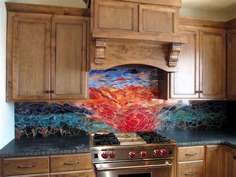 kitchen mosaic designs glass mosaic sunset mural designer glass mosaics 2322